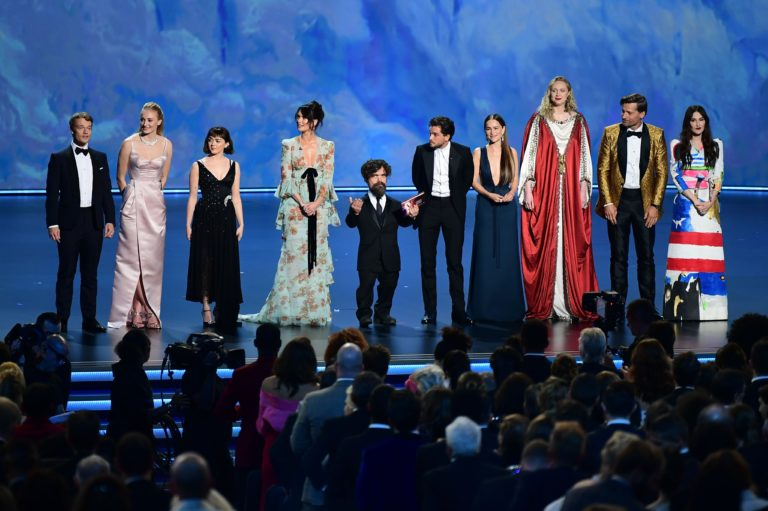 'Game of Thrones' wins Emmy for best drama