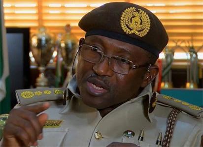 Comptroller-General of Immigration Muhammad Babandede