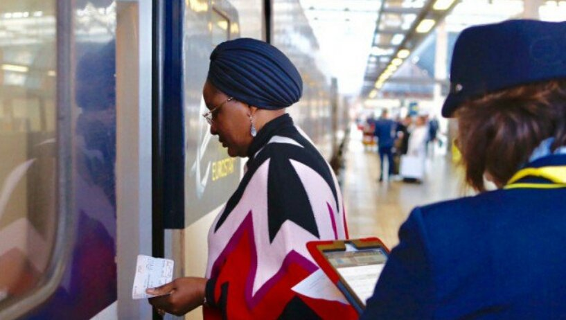 FILE PHOTO: Nigerian First Lady Aisha Buhari. The picture was taken in October 2016 in London.