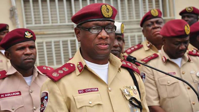 FRSC Corps Marshal Oyeyemi Boboye