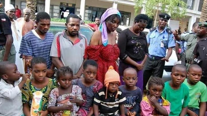 Kano kidnapped children
