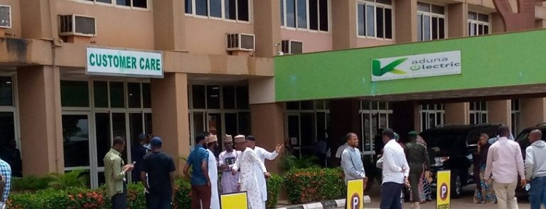 Protesters storm Kaduna Electric over nonpayment of salaries, pension
