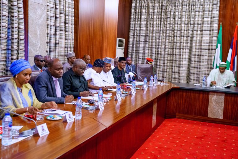 Buhari meets members of advisory c'ttee against corruption
