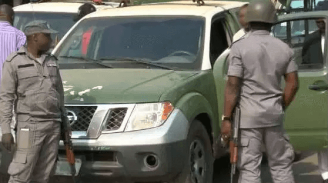 Nigerian Customs intercepts vehicles with fabricated tanks supplying fuel to terrorists in Katsina