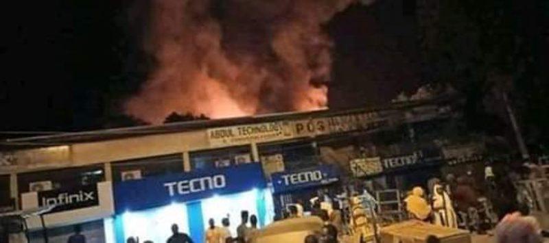 Maiduguri GSM market fire