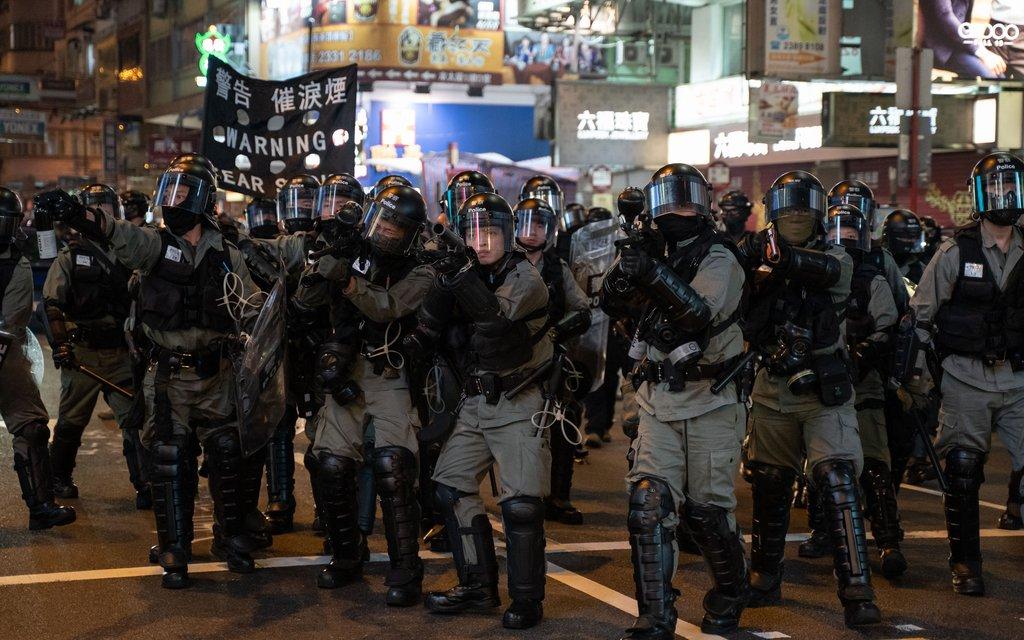China wants to boost Hong Kong law enforcement, patriotism