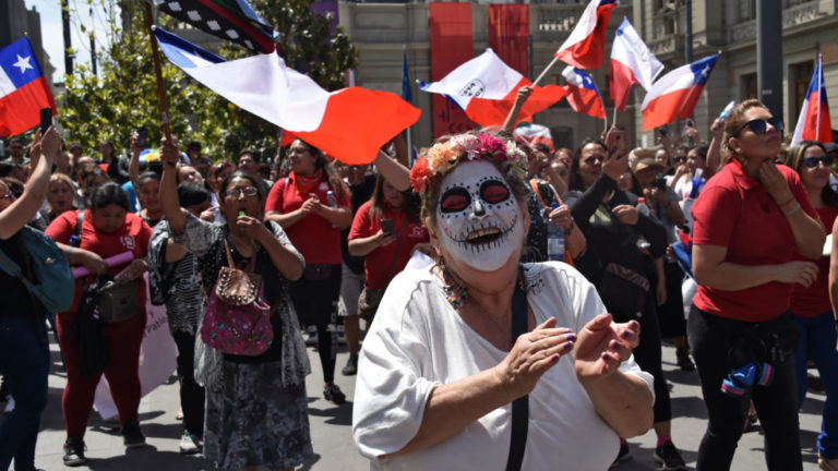 Political parties in Chile agree on path to new constitution