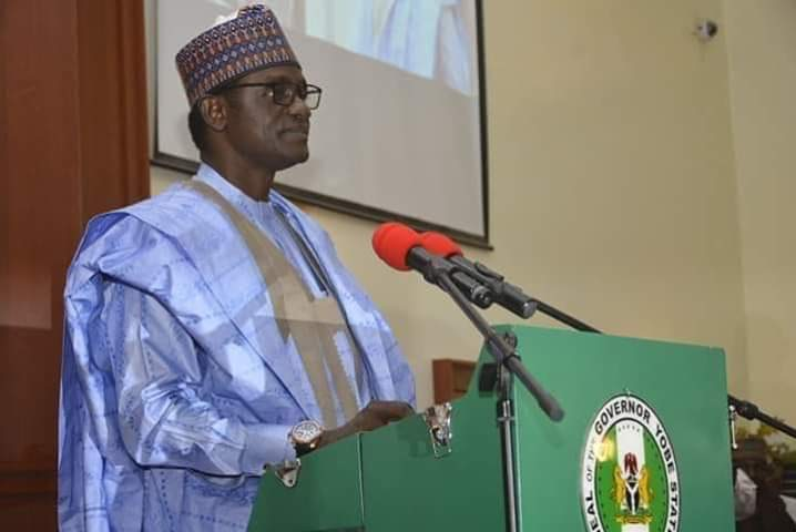Governor Mai Mala Buni of Yobe State
