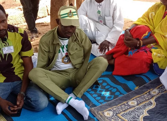 NYSC donates N26m artificial limbs for amputee corps member in Kano