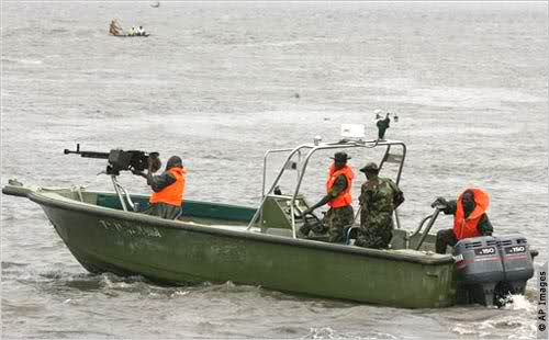 Nigerian Navy seizes 1,425 bags of smuggled rice, arrests 20 suspects