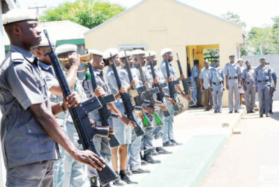 Personnel of the Nigerian Customs Service