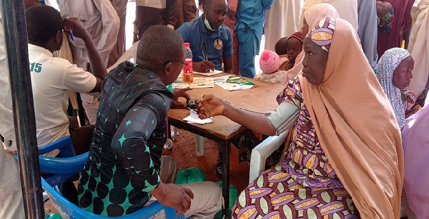 5,000 Kano residents receive free medical services