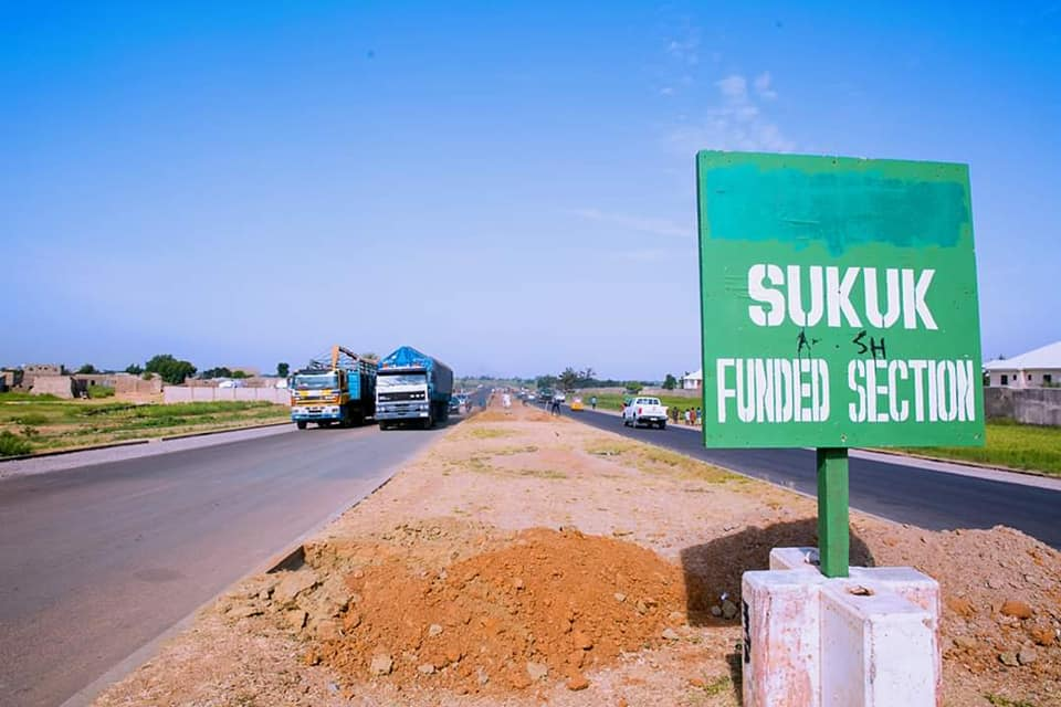 FILE: A section of a SUKUK-funded road