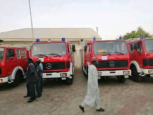 Zamfara fire service vehicles