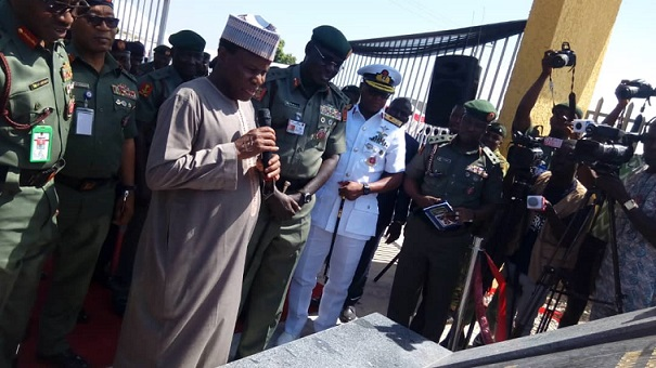 Nigerian Army inaugurates 150-flat accommodation for personnel in Abuja