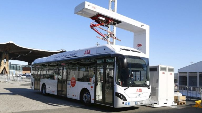 Mongolia launches electric bus service to reduce air pollution
