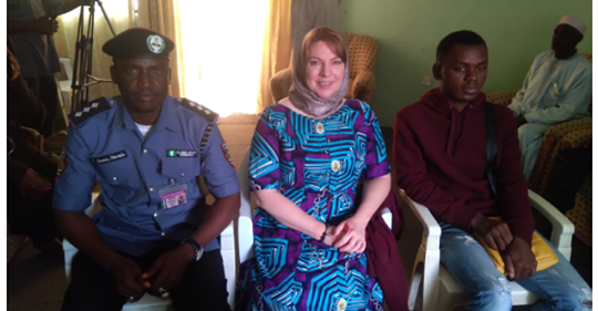 The Kano State Sharia law enforcement agency, Hisbah, on Saturday January 18, 2020 invited an American woman and her lover, Sulaiman Isa, to their office for questioning.