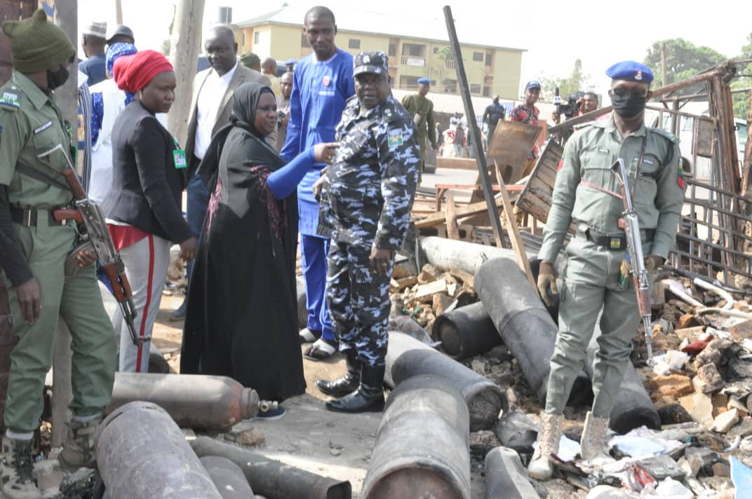 Kaduna gas explosion