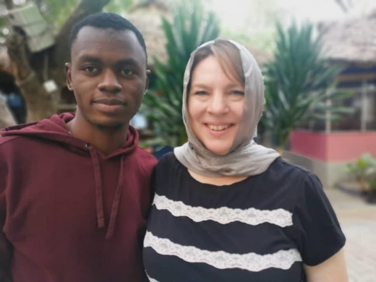American mom, 46, in Kano to marry 23-year-old lover she met on Instagram