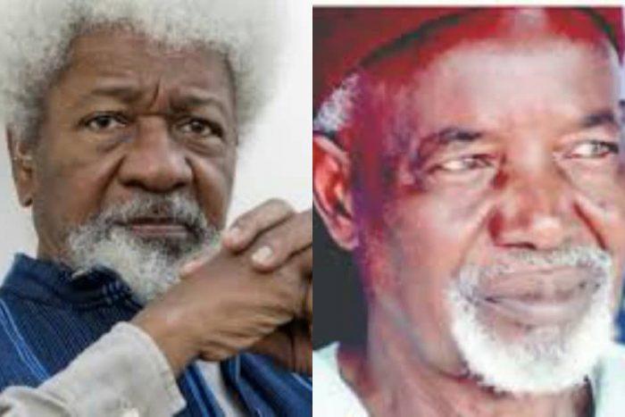 Nobel Laureate, Wole Soyinka and former governor of Old Kaduna State, Balarabe Musa