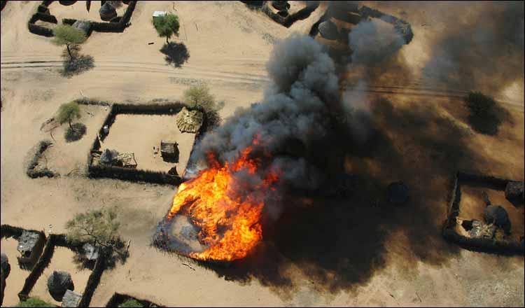 JUST IN: Boko Haram invades Chibok village, sets'Many houses' ablaze