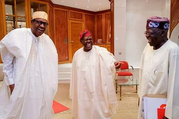 Buhari and Bisi Akande