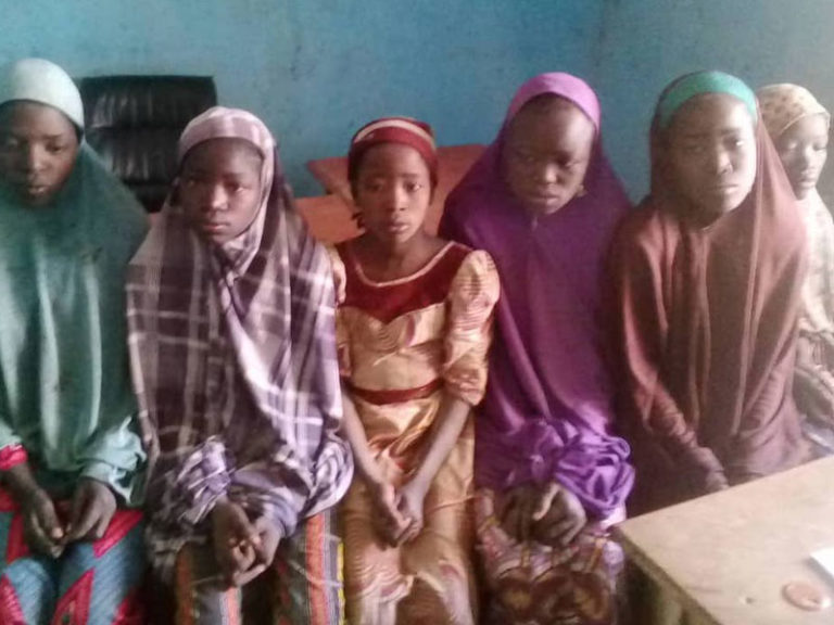 After gun duel with bandits, Police rescue 6 abducted teenage girls in Katsina