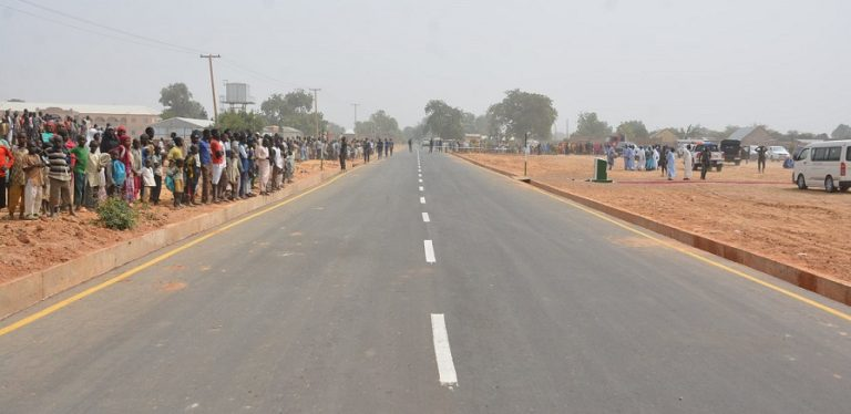 Buni commissions 4.1km road, 8.2km concrete drainage projects in Buni-Yadi
