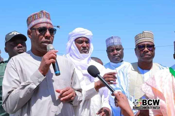 The governor of Borno State, Babagana Zulum, has visited Niger Republic to discuss modalities for safe and dignified repatriation of 120, 000 refugees.