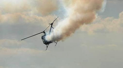 Police Helicopter used for illustration