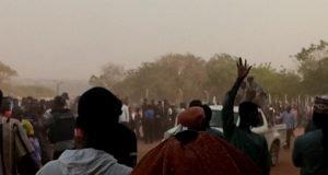 Scene of pandemonium at the closing ceremony of NIPOGA in Ilorin on Saturday