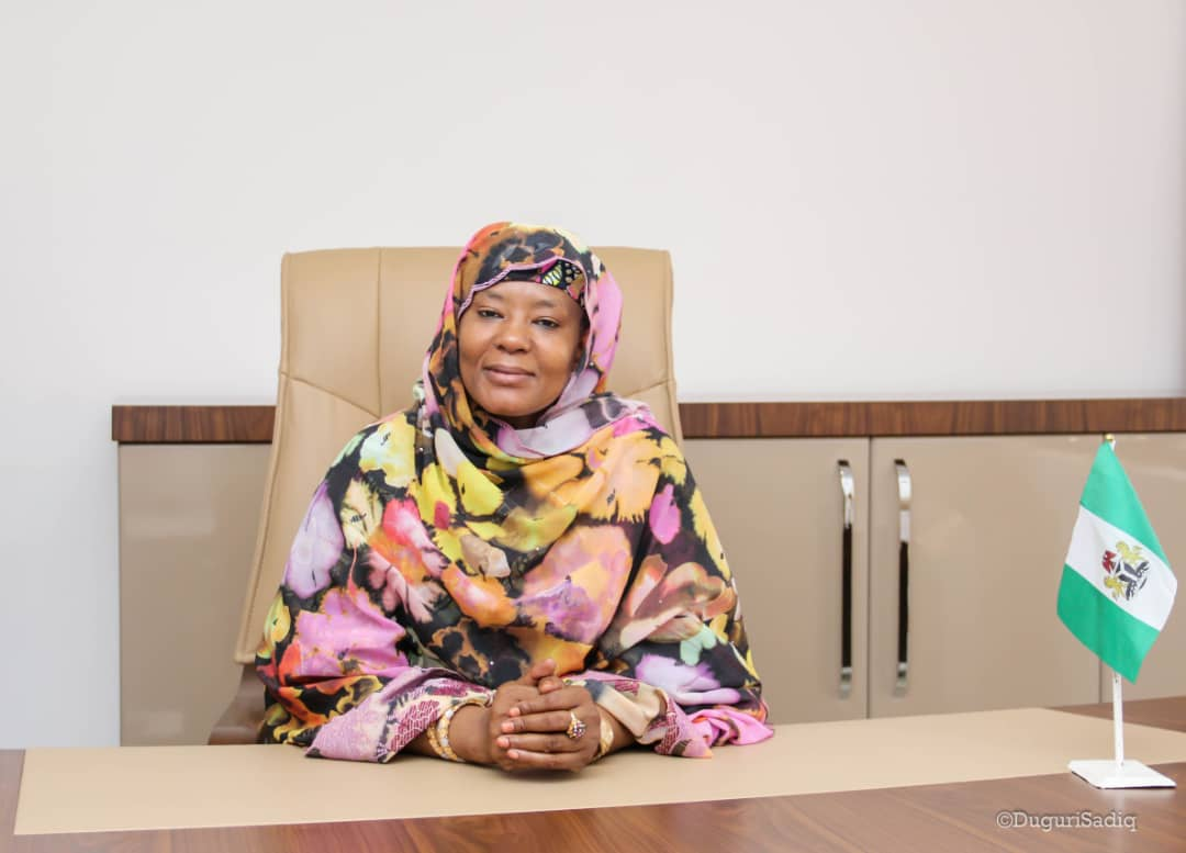 Wife of the Bauchi State Governor, Dr Aisha Mohammed,