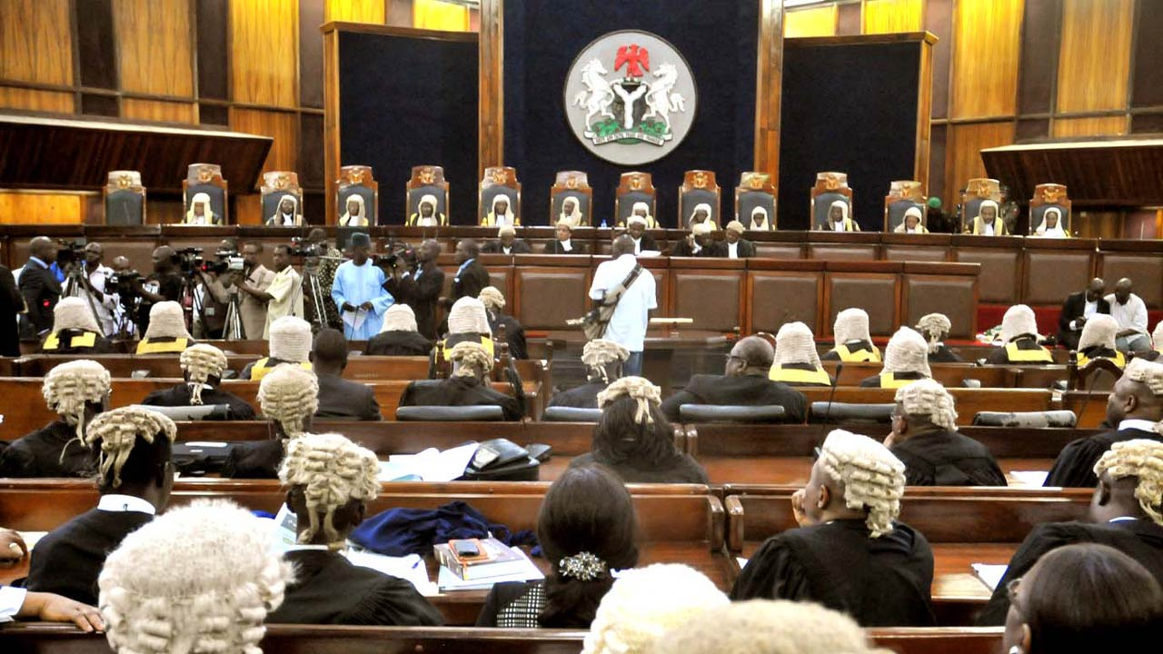 FILE: Nigeria Supreme Court on session