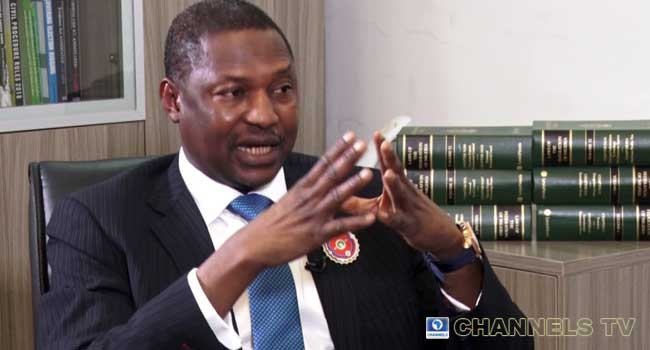 Minister of Justice and Attorney-General of the Federation Abubakar Malami