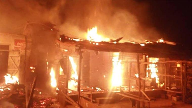 Zamfara LG secretariat gutted by fire