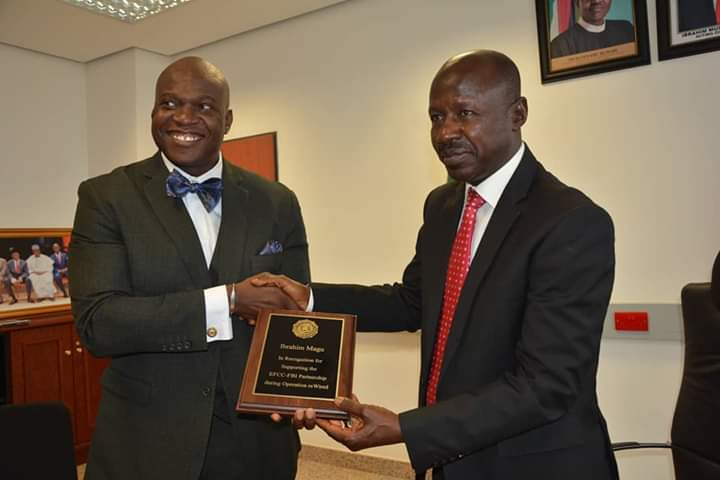 Magu bags FBI's Award of Excellence
