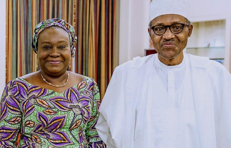 Buhari swears-in Folasade Yemi-Esan as new Head of Civil Service