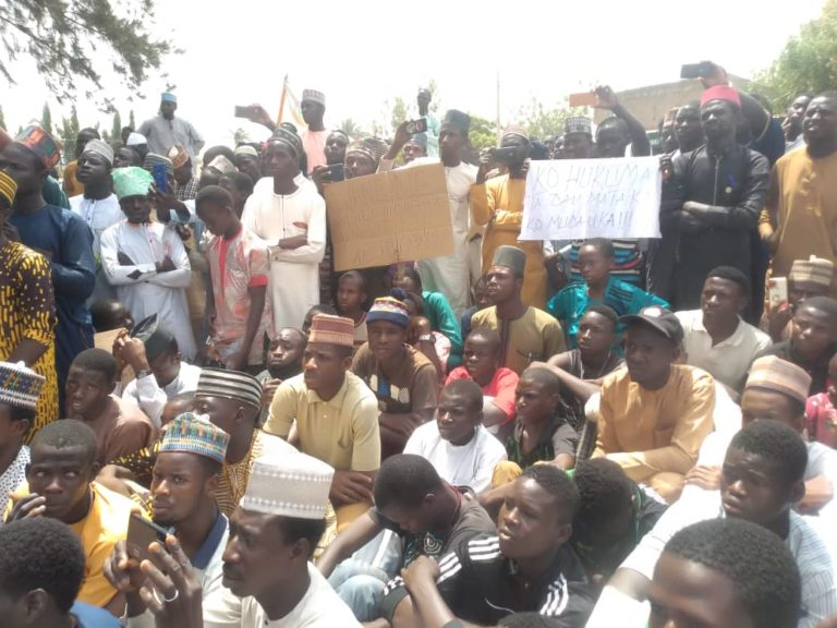 Blasphemy: Police launch manhunt on fleeing singer as youths hold protest in Kano