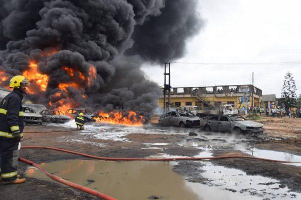 Abule-Ado Explosion: Dangote donates N100m cement to victims