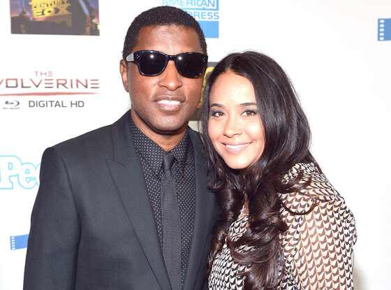 Babyface and wife