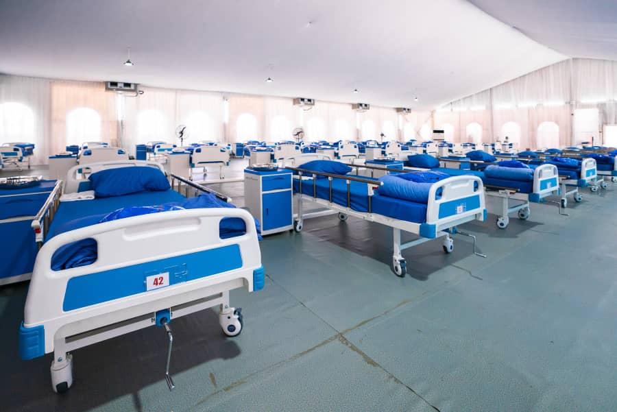 Coronavirus Isolation Centre in lagos