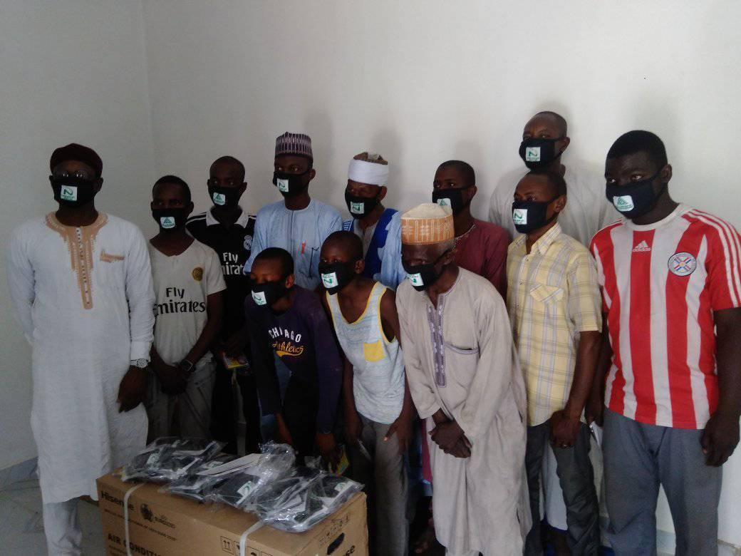 COVID-19: Philanthropist donates N5,000 cash, face masks to 200 households in Kano