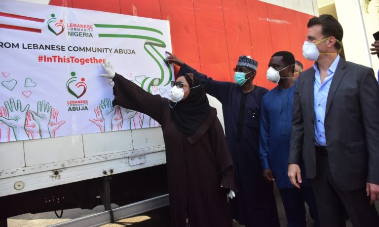 COVID-19 palliatives: Lebanese community donates food items to FCT
