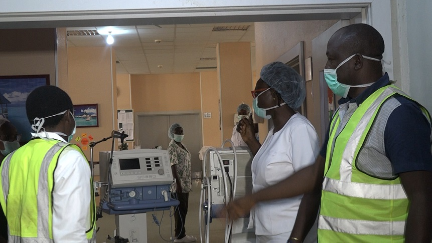 JUTH ventilator repairers