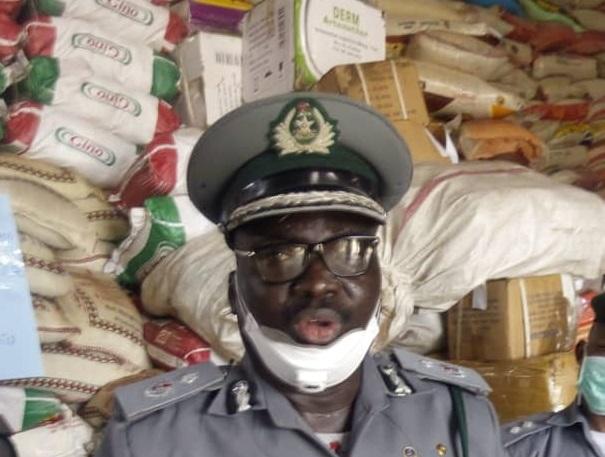 COVID-19 Lockdown: Nigerian Customs impound N77m worth of contraband goods at Seme border