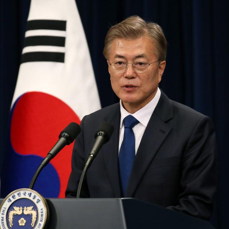 North Korea tops agenda as South Korean president visits White House