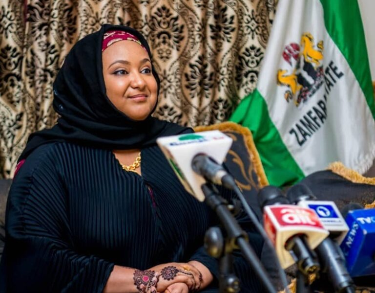 COVID-19: Zamfara First Lady empowers women in face mask, hand sanitiser making