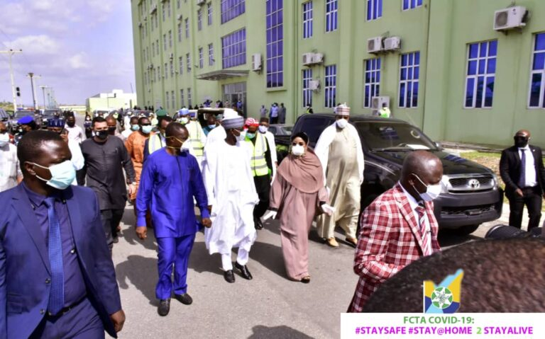 FCT minister commissions 500-bed isolation and treatment center