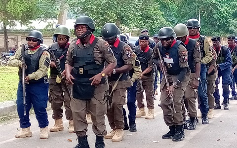 NSCDC begins forensic evaluation for arms-bearing personnel