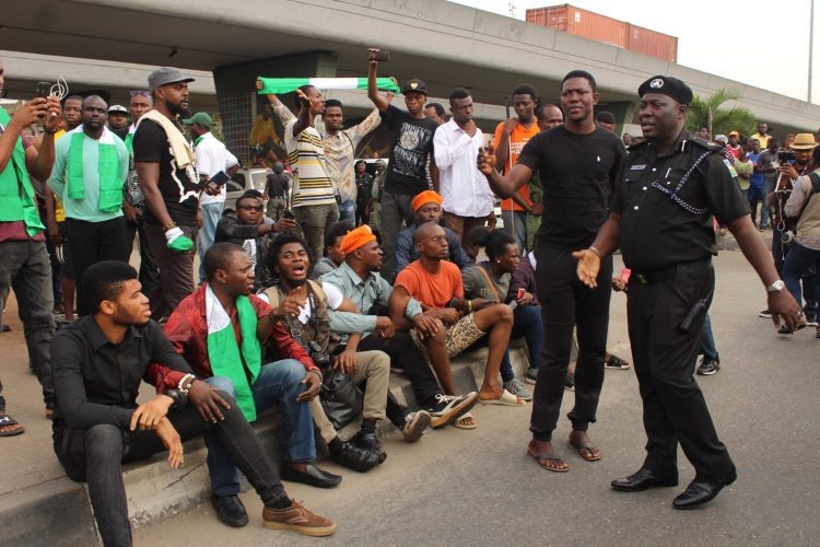 SSS releases 11 #RevolutionNow protesters